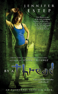 Review: By A Thread by Jennifer Estep