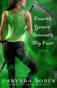 Review ~ Fourth Grave Beneath My Feet by Darynda Jones @darynda #CharleyWeek