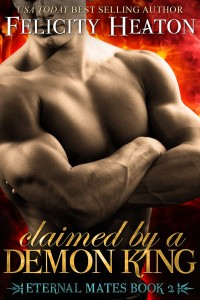Review ~ Claimed By A Demon King by Felicity Heaton