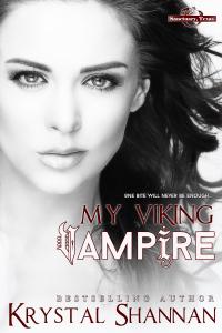 Cover Reveal ~ My Viking Vampire by Krystal Shannan