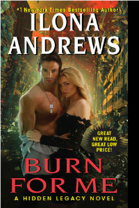 Review ~ Burn For Me by Ilona Andrews
