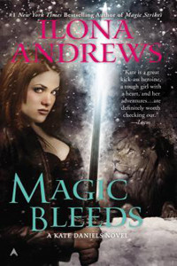 Review ~ Magic Bleeds by Ilona Andrews