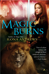 Review ~ Magic Burns by Ilona Andrews