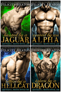 Cover Reveal ~ Next Four Covers for the Eternal Mates!