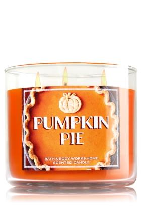 pumpkinpiecandle