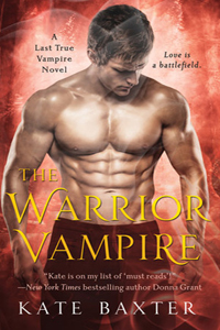 Review ~ The Warrior Vampire by Kate Baxter @KateBaxterBooks