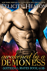 Cover Reveal ~ Awakened By A Demoness by Felicity Heaton