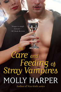 Review ~ The Care and Feeding of Strange Vampires by Molly Harper @mollyharperauth