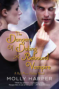 Review ~ The Dangers of Dating a Rebound Vampire by Molly Harper @MollyHarperAuth