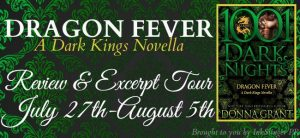 Review & Excerpt ~ Dragon Fever by Donna Grant @Donna_Grant @InkSlingerPR