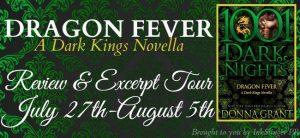 Review & Excerpt ~ Dragon Fever by Donna Grant @Donna_Grant @InkSlingerPR