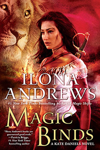 Review ~ Magic Binds by Ilona Andrews @ilona_andrews @reneeraudman