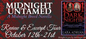 Review & Excerpt of Midnight Untamed by Lara Adrian @lara_adrian @InkSlingerPR