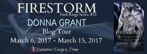 Tour Stop & Giveaway ~ Firestorm by Donna Grant @Donna_Grant @SMPRomance