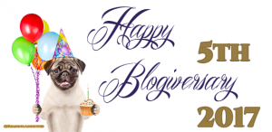 Our 5th Blogiversary & Giveaway!