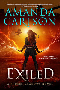 Release Day Blitz & Giveaway for EXILED by Amanda Carlson @AmandaCarlson