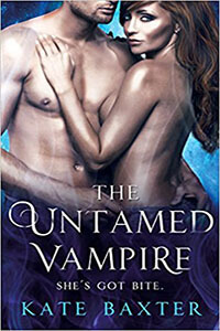 Review ~ The Untamed Vampire by Kate Baxter @KateBaxterBooks