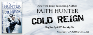 Cold Reign by Faith Hunter ~ Character Profile and Giveaway @HunterFaith @LetsTalkLTP