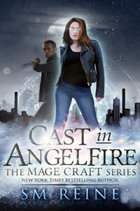 Review ~ Cast In Angelfire by S.M. Reine @TantorAudio