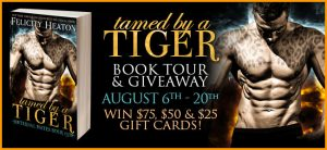 Tamed By A Tiger by Felicity Heaton Book Tour & Giveaway