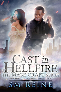 Review ~ Cast In Hellfire by S.M. Reine @TantorAudio