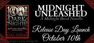 Release Day Blitz ~ Midnight Unleashed by Lara Adrian @Lara_Adrian @InkSlingerPR