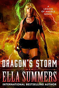 Review ~ Dragon's Storm by Ella Summers @EllaAuthor @TantorAudio