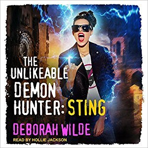 Review ~ The Unlikeable Demon Hunter: Sting by Deborah Wilde @TantorAudio