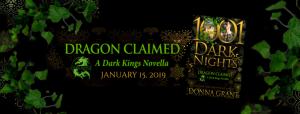 Teaser ~ Dragon Claimed by Donna Grant @Donna_Grant @InkslingerPR