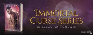 Spotlight & Excerpt ~ Immortal Curse Series & Angel Bonds by Lexi C Foss @InkslingerPR