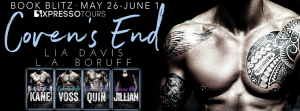 Spotlight, Excerpt & Giveaway ~ Coven's End Series by Lia Davis & LA Boruff