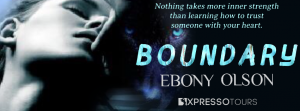 Cover Reveal ~ Boundary by Ebony Olson