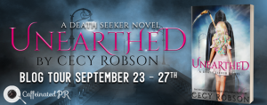 Review, Excerpt & Giveaway ~ Unearthed by Cecy Robson @CecyRobson
