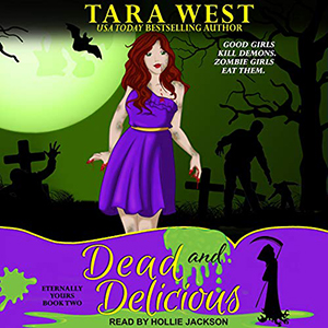 Review ~ Dead and Delicious by Tara West @TantorAudio