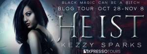 Excerpt & Giveaway ~ Heist by Kezzy Sparks