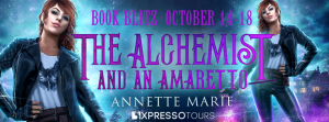 Excerpt & Giveaway ~ The Alchemist And An Amaretto by Annette Marie