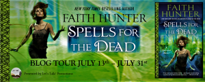 Spotlight & Excerpt ~ Spells for the Dead by Faith Hunter