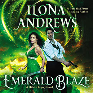 Review ~ Emerald Blaze by Ilona Andrews